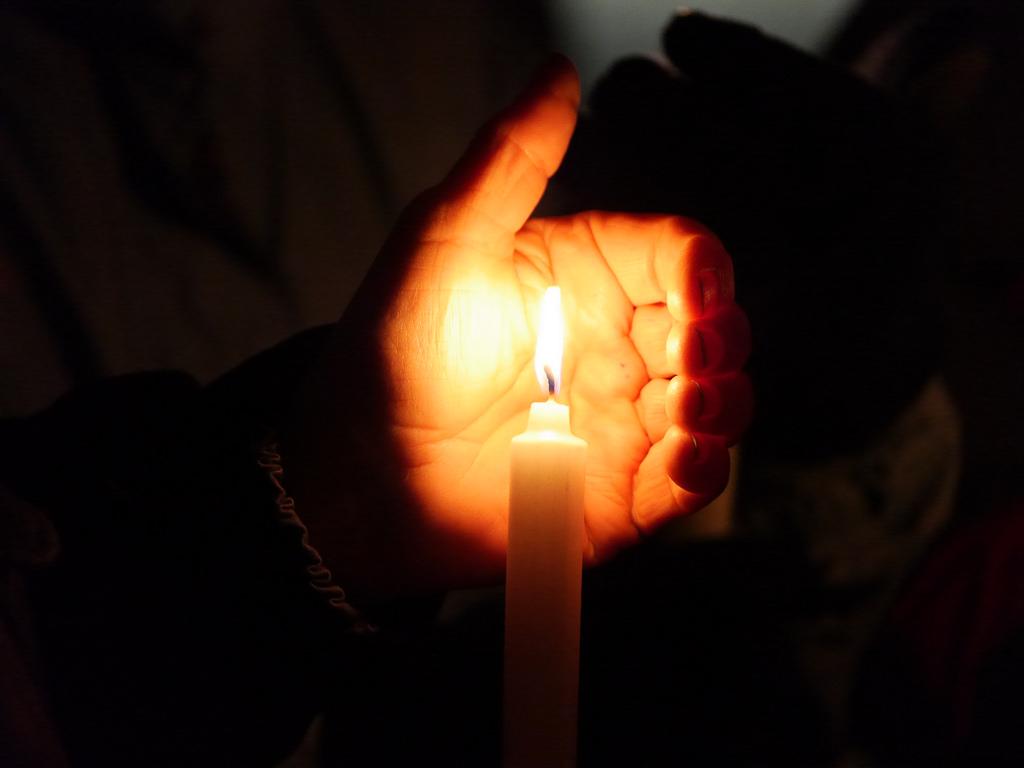Keystone Pipeline candlelight vigil