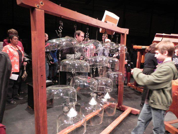Newband and the beautiful instruments of Harry Partch