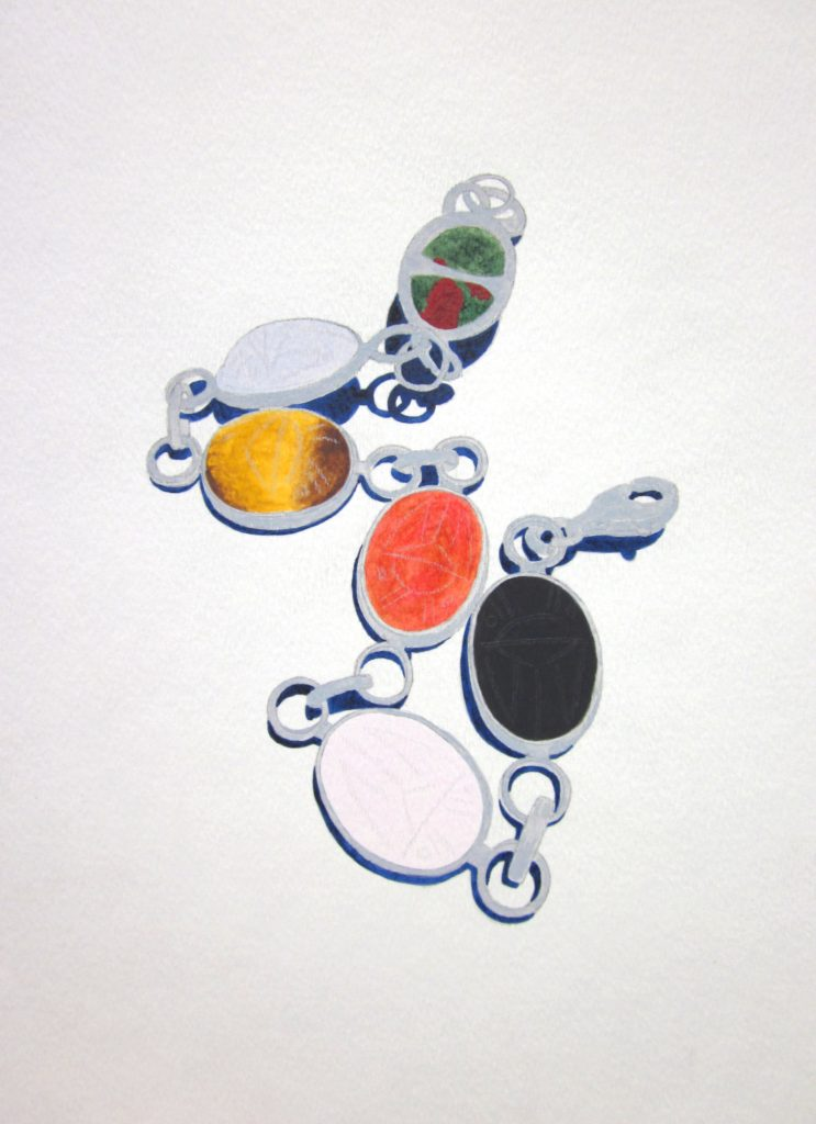 Esti's Bracelet. Illustration by Anna Mohr.