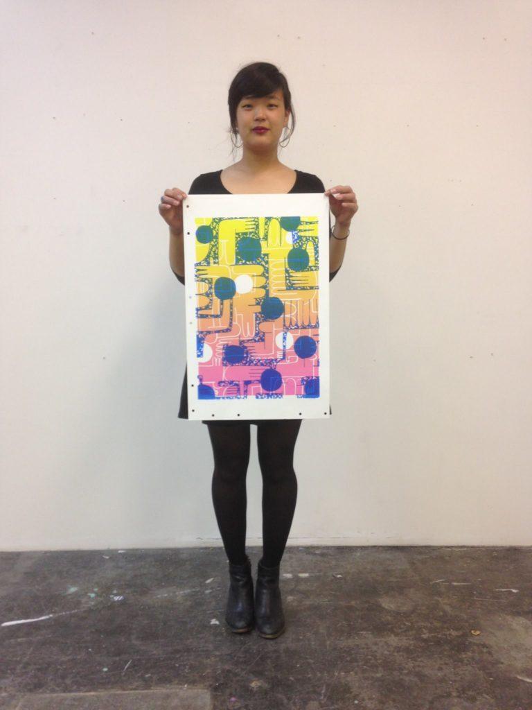 Christina Lee. Photograph courtesy of the artist.